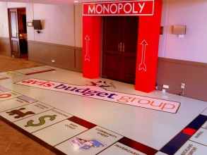 Design - Monopoly theme