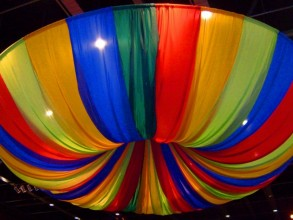 Event Design - Carnival Ceiling