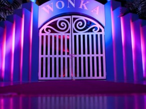 Willy Wonka Stage Set